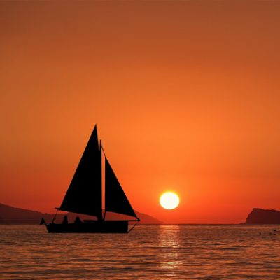 Private Sunset Cruise on a Blue Water Yacht