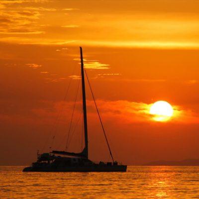 Sunset Trimaran