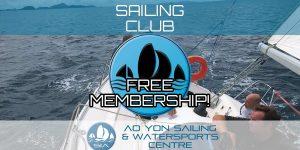 Free Sailing Club Membership