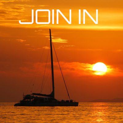 Join In Sunset Trimaran