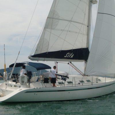 sita skippered yacht charter